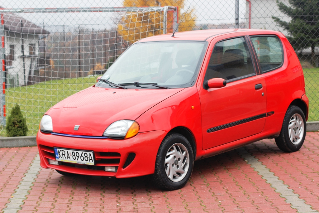 fiat seicento schumacher sporting limited edition full. Black Bedroom Furniture Sets. Home Design Ideas