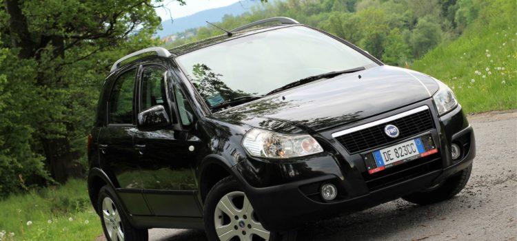 FIAT SEDICI 1.6 Benzyna !!! 4 x 4 !!! Mały przebieg !!! SUPER STAN !!!